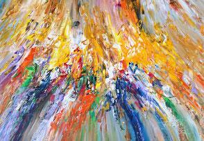 oversized  painting