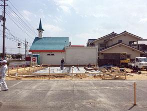 うどん「蔵」新築工事