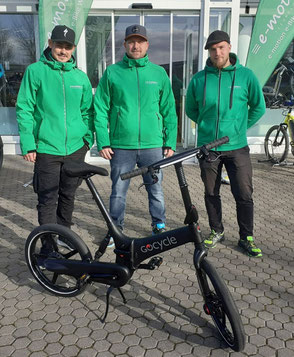 Gocycle; M1 Sporttechnik; e-Bike Modelle 2020