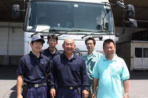 前列左から古谷俊之氏、森井満夫氏、澤井和樹氏、後列左から吉村隆司氏、野村康志氏