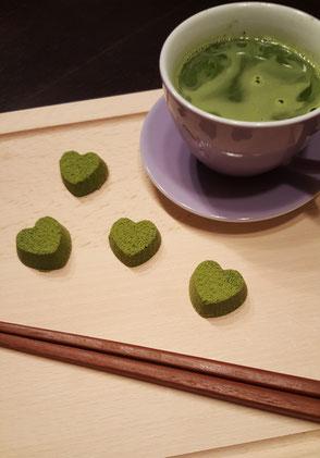 Matcha Grüntee Green Tea Schokolade