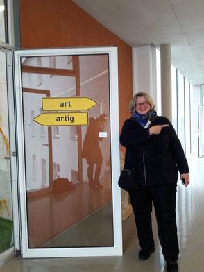 Art, artig, GEDOK, Franken, Schwabach, Stadtmuseum, Künstlerin, Installation, richtungsweisend