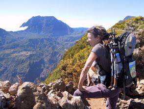 Wandern zu den Vulkanen gehört zu den beliebtesten Outdooraktivitäten auf La Réunion. Foto: C. Schumann, 2016