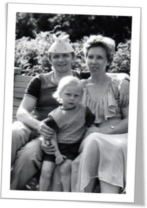 Чета Мавнуковых, Сергей и Людмила с сыном. Мои «духовные родители»