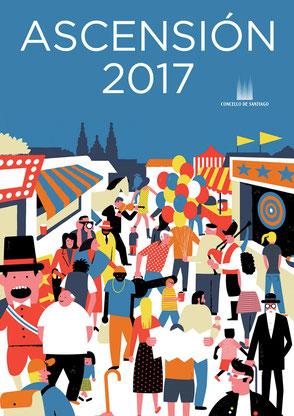 Fiestas en Santiago de Compostela Festas da Ascensión