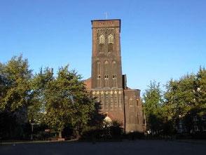 An der Pfarrkirche St. Joseph war Alfred Steffen 48 Jahre lang als Kirchenmusiker tätig.