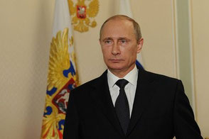 Vladimir Putin, once internationally respected, meanwhile labeled a pariah by many governments and the media  /  source: The Presidential Press and Information Office.