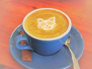 Kalter Kaffee mit Kind