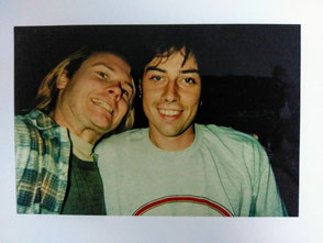 Foto (privat): Dave Thomas (links), Michael Schuster (rechts), ca. 1995