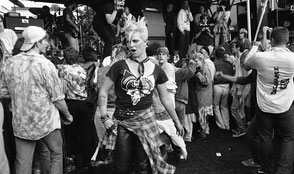 Rock Against Reagan, Dolores Park, Oktober, 1983