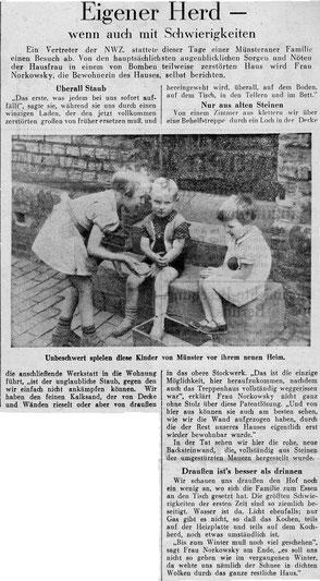 Neue Westfälische Zeitung 29.6.1945