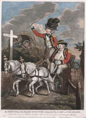 "1770 Collett ""Officer in the light infantry"""