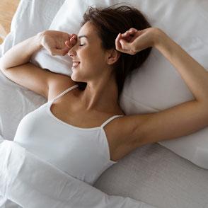 Erfolgreiche Behandlung von Schlafstörungen durch Massage