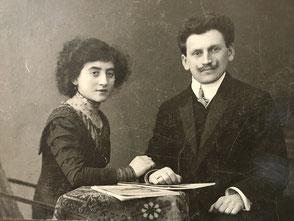 Thekla Kamm, geb. Sichel, geboren am 17.5.1886 und Willy Kamm, geboren am 3.12.1884