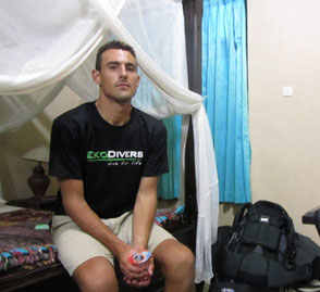 Angry looking Alex at Danteharker.com