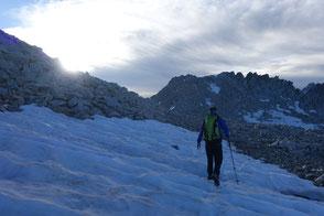 Albigna, Klettertour, Bergschuhklettern, Piz Casnil Ostgrat, Südgrat, Pass da Casnil Su