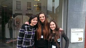 Lisa Münster, Sjieuwke Poepjes und Melanie Burnon