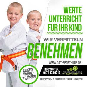Benehmen von Kindern - Erlerne diese Fähigkeit mit Hilfe einer Kampfsportart