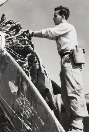 L.A.C. Peter Brennan -  435 Sqn RCAF,  Burma, 1944