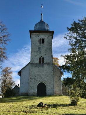 Kirche beim Schloss Vecpils