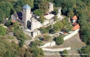 Starkenburg Heppenheim. Bild: Tourismusbüro Heppenheim