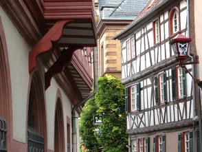 Altstadtgasse in Heppenheim