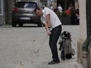 Golfen mitten in der Altstadt - ©Claudio Orlik