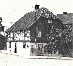 Geburtshaus in Greene-Bild 1927