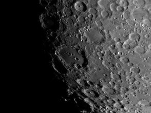 Lunar sunrise with Clavius