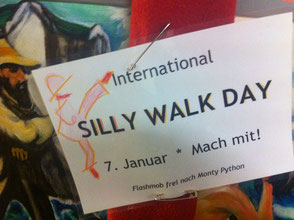 Silly Walk Day Essen