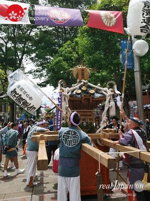 横浜開港祭,みこしコラボレーション, 2019年6月30日, 伊勢佐木町商店街, イセザキモール, 都會