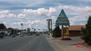 Weer in New Mexico in het plaatsje Gallup