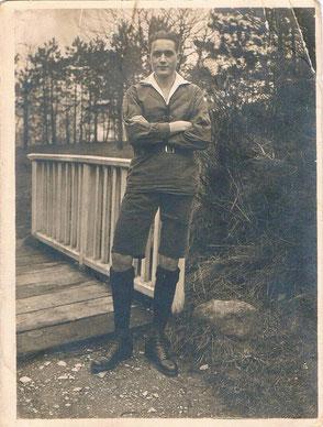 Wilhelm Pfromm ca. 1925