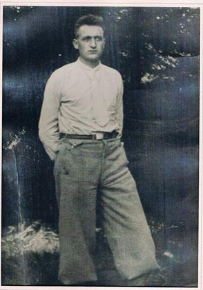 Wilhelm Pfromm ca. 1930