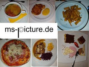 Das Essen im Hotel Alte Mühle in Schluderns