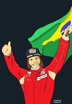 Emerson Fittipaldi by Muneta & Cerracín