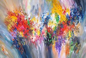Gemälde in lebendiger Maltechnik, im Herbst entstanden