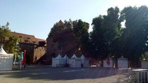 Zitadelle Spandau, Palas und Innenhof