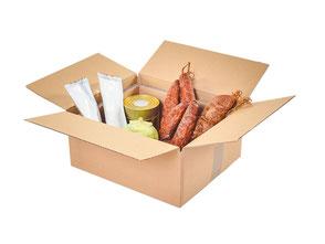 Versandbox für den Kühlversand von Lebensmitteln