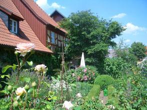 Ferienwohnung Nemmert Garten