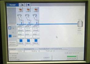 DCIM - Programmierte Dosierung live an der Sprietzgießmaschine. Foto: © Exipnos