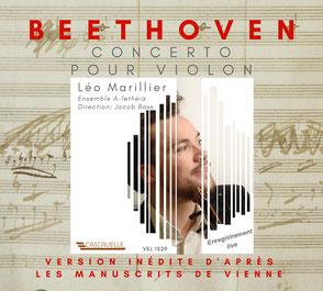 Pochette CD Léo Marillier