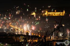 Würzburg fireworks newyearseve silvester castle Festung Marienberg mattkeyworth Photographen Fotograf Würzburg