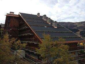 Couverture Les Chandonnelles 2 Meribel Rénovation de toiture