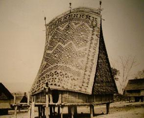 begeistert von der Baukunst einfacher Bauern