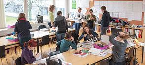 Eine Veranstaltung der VLI und UBG mit der PV-Akademie: Abend für Unterrichtspraktikant*innen und zukünftige Lehrer*innen   Bild: Joachim Wiesner