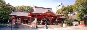 神戸市民の崇拝を集める生田神社