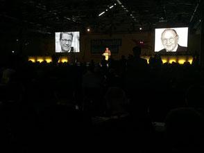 Gedenken auf dem Landesparteitag im April in Bielefeld