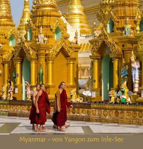 MYANMAR - von Yangon zum Inle-See