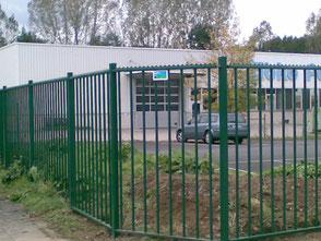 DPD Hagen Sicherheitszaun (Herkules)
